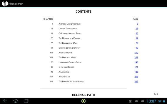 Helena's Path apk screenshot
