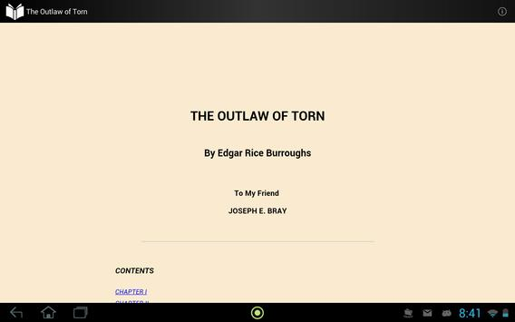 The Outlaw of Torn apk screenshot