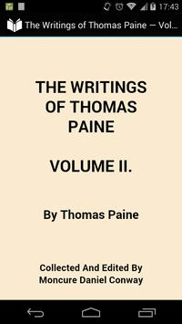 The Writings of Thomas Paine 2 poster