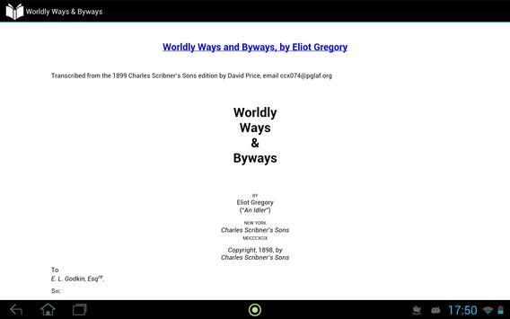 Worldly Ways & Byways apk screenshot