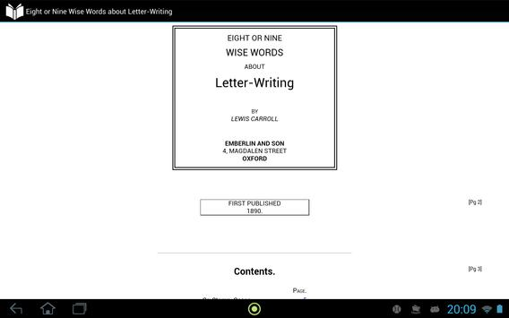 About Letter-Writing apk screenshot