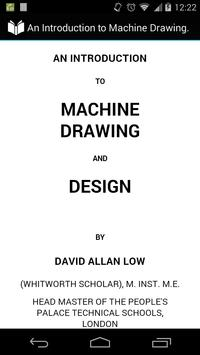 Machine Drawing and Design poster