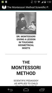 The Montessori Method poster