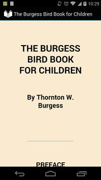 The Bird Book for Children poster