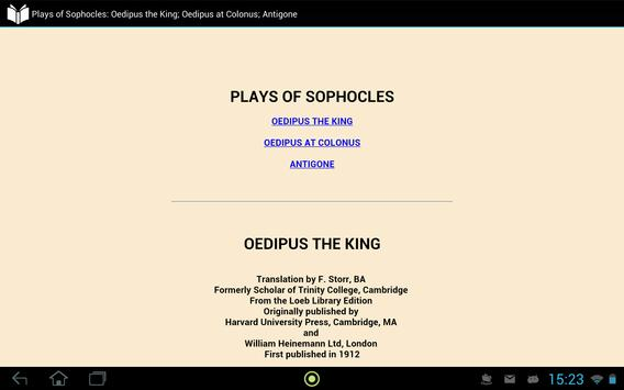 Plays of Sophocles apk screenshot