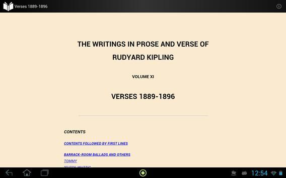 Verses of Rudyard Kipling apk screenshot