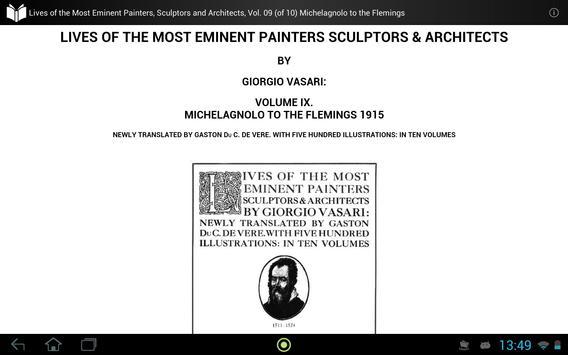 The Most Eminent Artists 9 apk screenshot