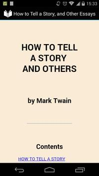 How to Tell a Story poster