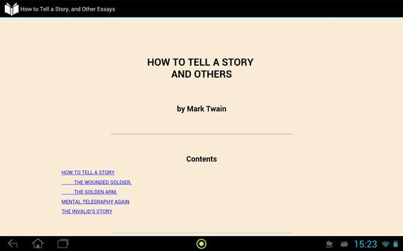 How to Tell a Story apk screenshot