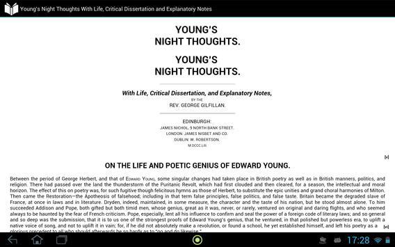Night Thoughts apk screenshot