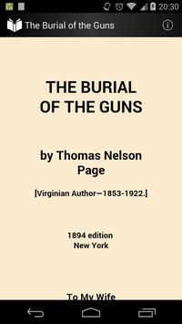 The Burial of the Guns poster