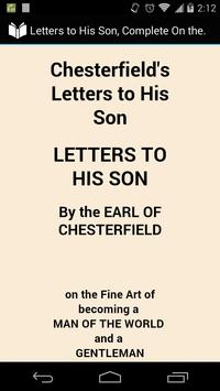 Letters to His Son poster