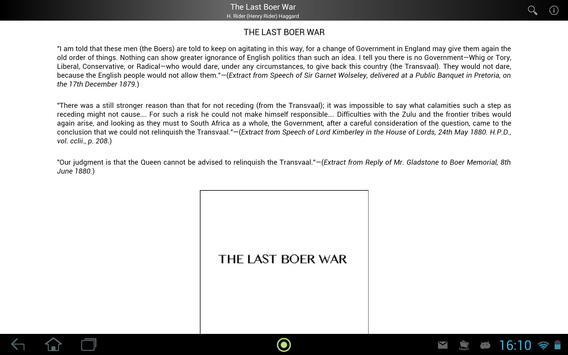 The Last Boer War apk screenshot