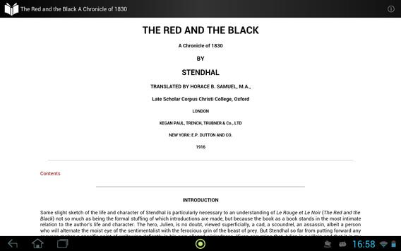 The Red and the Black apk screenshot