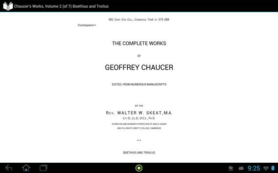 Chaucer's Works, Volume 2 apk screenshot