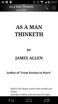 As a Man Thinketh poster
