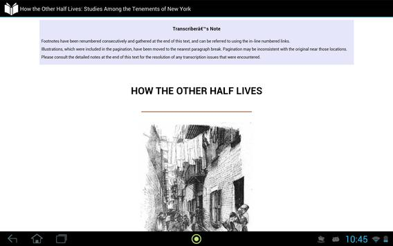 How the Other Half Lives apk screenshot