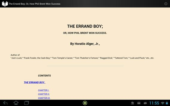The Errand Boy apk screenshot
