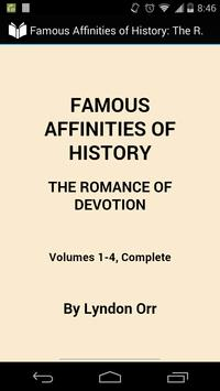 Famous Affinities of History poster