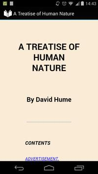 A Treatise of Human Nature poster