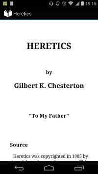 Heretics poster