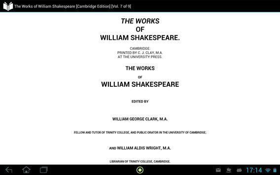 Works of William Shakespeare 7 apk screenshot