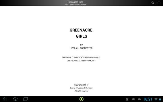 Greenacre Girls apk screenshot