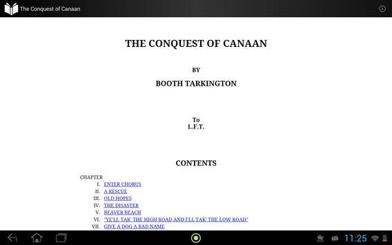 The Conquest of Canaan apk screenshot