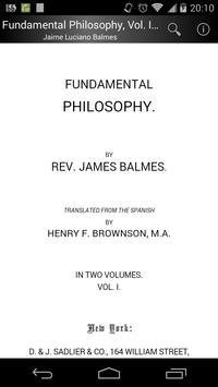 Fundamental Philosophy, Vol. 1 poster