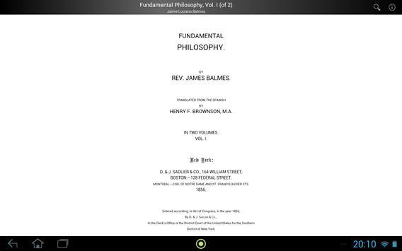 Fundamental Philosophy, Vol. 1 apk screenshot