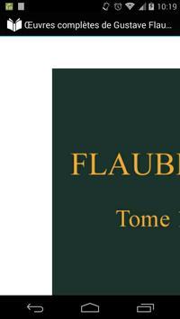 Œuvres complètes de Flaubert 1 poster