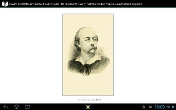 Œuvres complètes de Flaubert 1 apk screenshot
