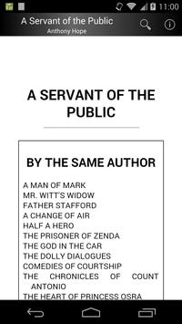 A Servant of the Public poster