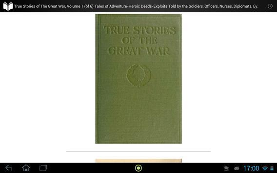 True Stories of Great War 1 apk screenshot