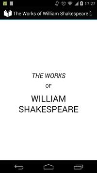 Works of William Shakespeare 8 poster