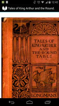 King Arthur and Round Table poster
