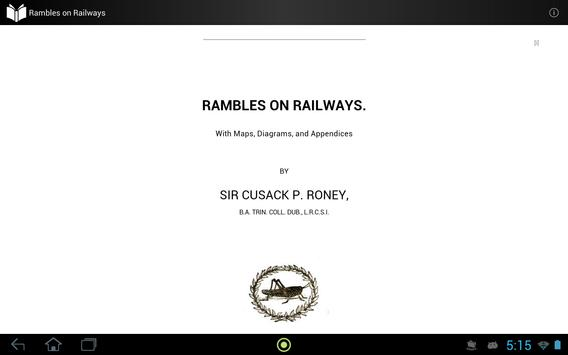 Rambles on Railways apk screenshot