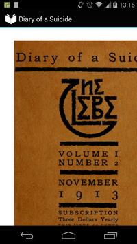 Diary of a Suicide poster