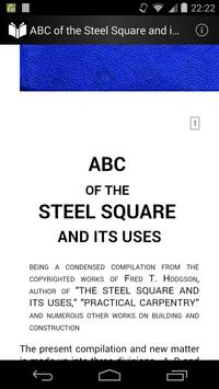 The Steel Square and its Uses poster
