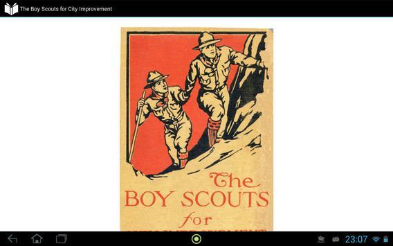 Boy Scout for City Improvement apk screenshot