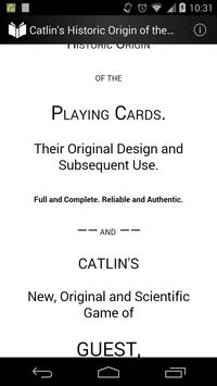 Origin of the Playing Cards poster