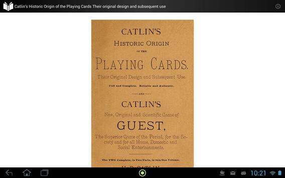 Origin of the Playing Cards apk screenshot