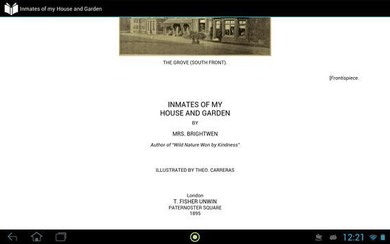 Inmates of my House and Garden apk screenshot
