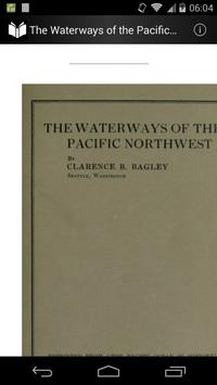 Waterways of Pacific Northwest poster