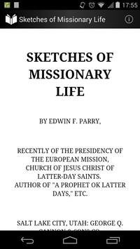 Sketches of Missionary Life poster