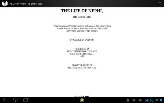 The Life of Nephi apk screenshot