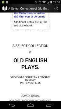 Old English Plays apk screenshot