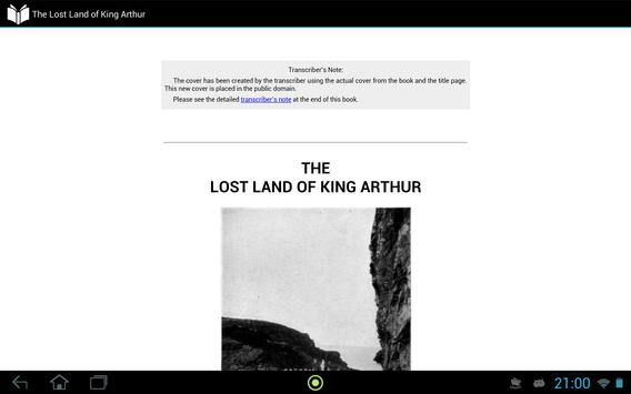 The Lost Land of King Arthur apk screenshot