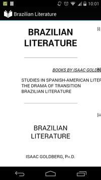 Brazilian Literature poster