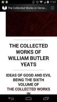 Verse and Prose of Yeats 6 apk screenshot
